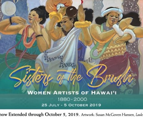 'Sisters of the Brush': An exhibition in Hawaii exploring The Seven and the women artists who helped pave their way