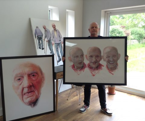 Artist interview with Nigel Whittaker: from the BP Portrait Award Exhibition to life with his late father