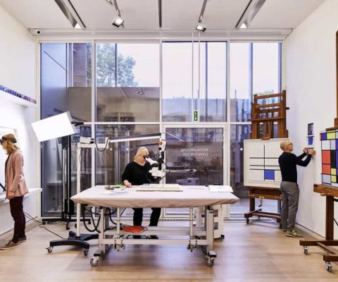 Piet Mondrian focus of restitution lawsuit and new conservation research
