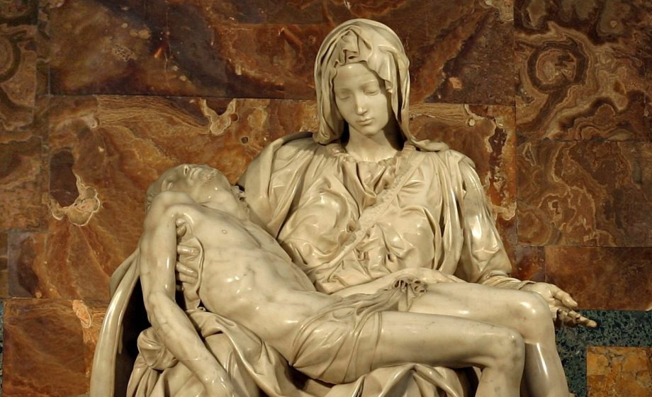 A statue once housed in a mouldy box now believed to have been made by Michelangelo