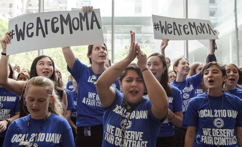 Museum Workers in New York City Fight Back