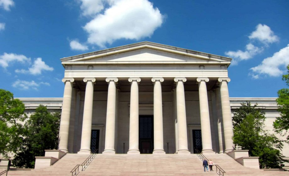 Valentine's Day protest seeks equality and diversity at DC's National Gallery of Art