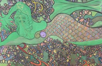 Mystic Eros: Chris Ofili at Frieze and Zwirner