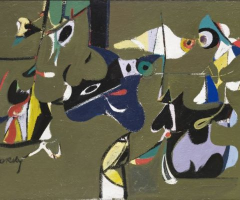 From surrealism to abstract expressionism, the practice of Arshile Gorky