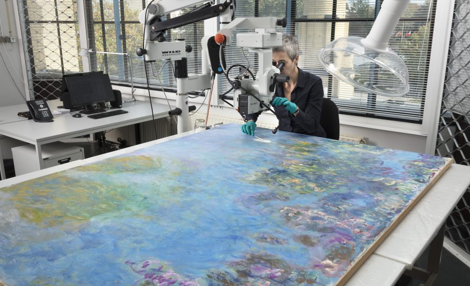 Monet's 'Water Lilies' hidden in plain sight