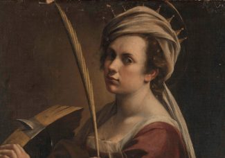 A closer look on Gentileschi's Self-Portrait as Saint Catherine of Alexandria