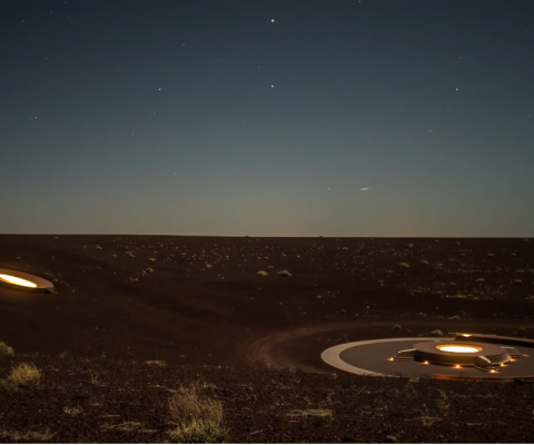 "James Turrell's ""Roden Crater"" will See the Light"