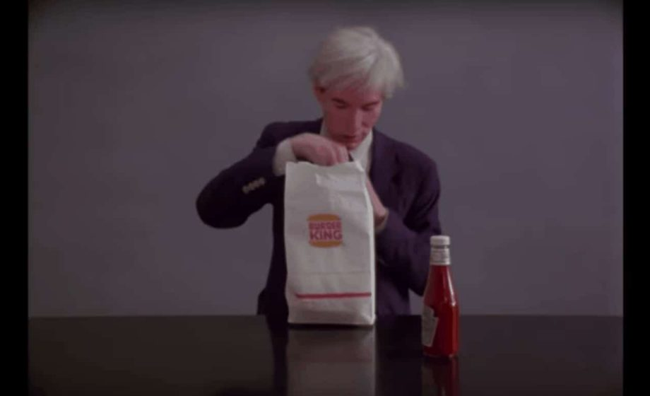 Bold Burger King Super Bowl ad features Andy Warhol