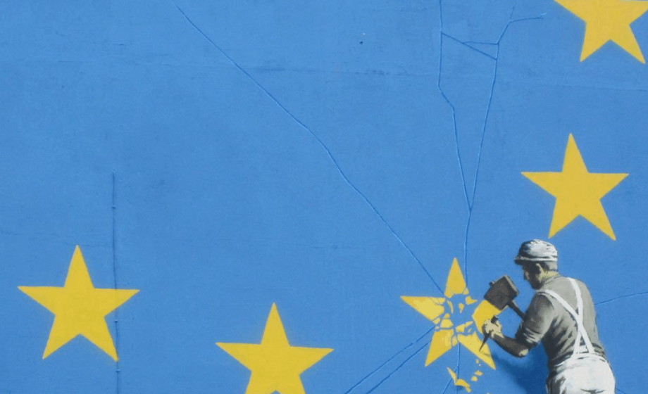 Banksy's Brexit Mural Disappears as Tension in the U.K Rise
