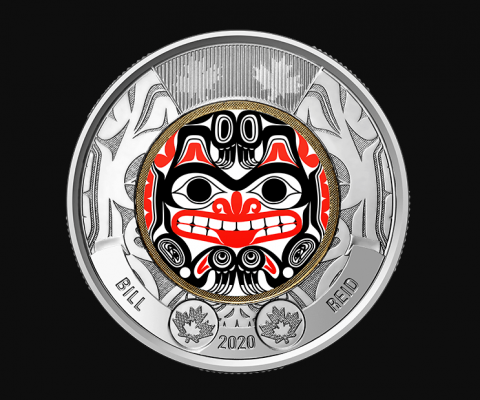Bill Reid's Haida grizzly bear honoured in new minting