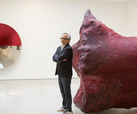 The blood flows in Anish Kapoor's newest show