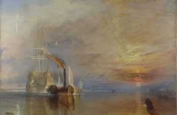 """Turner's Modern World"" unites Turner's ""The Fighting Temeraire"" with preparatory study for the first time ever"