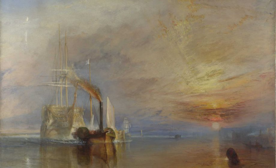 """""""Turner's Modern World"""" unites Turner's """"The Fighting Temeraire"""" with preparatory study for the first time ever"""