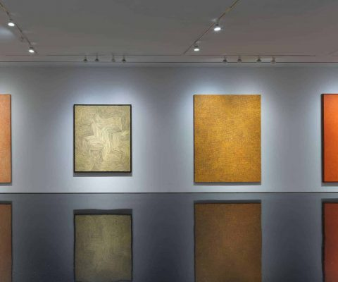 Steve Martin's collection of Indigenous Australian painters on show at Gagosian