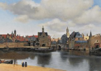 """Thanks to astronomy, researchers in Texas figure out the time, date, and year of Vermeer's """"View of Delft"""""""