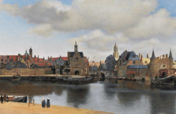 "Thanks to astronomy, researchers in Texas figure out the time, date, and year of Vermeer's ""View of Delft"""