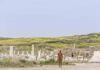 Ancient Greek Island of Delos gets its first contemporary art installation