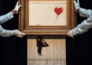 Shredded Banksy to be shown at German Museum