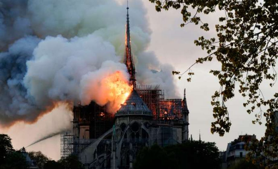 Paris' Notre Dame engulfed in flames
