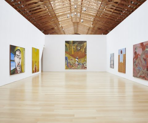 Francesco Clemente at the Brant Foundation