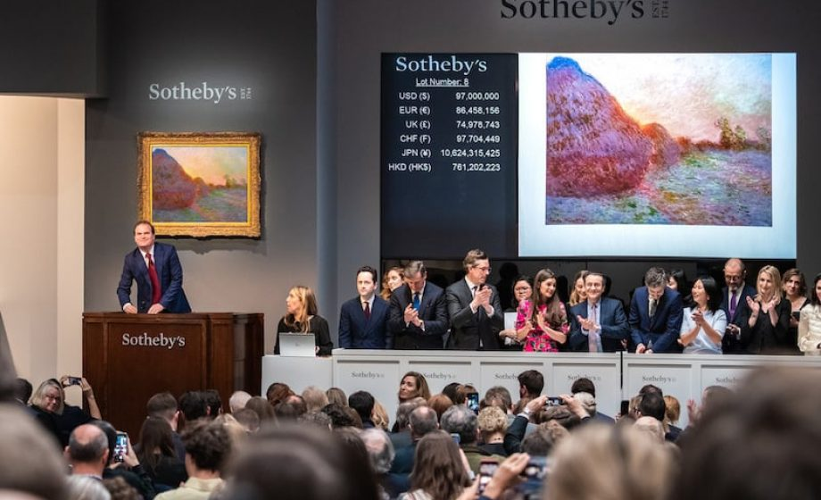 The year in auctions: biggest sales, to whom and an attempt at why