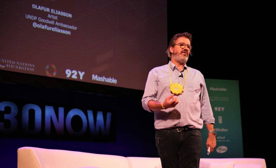 Artist Olafur Eliasson named as Goodwill Ambassador for climate action