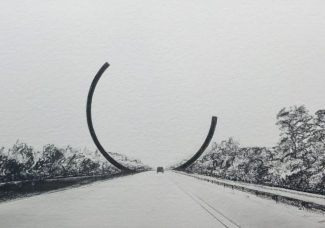 Europe's tallest roadside work of art to be unveiled in Belgium