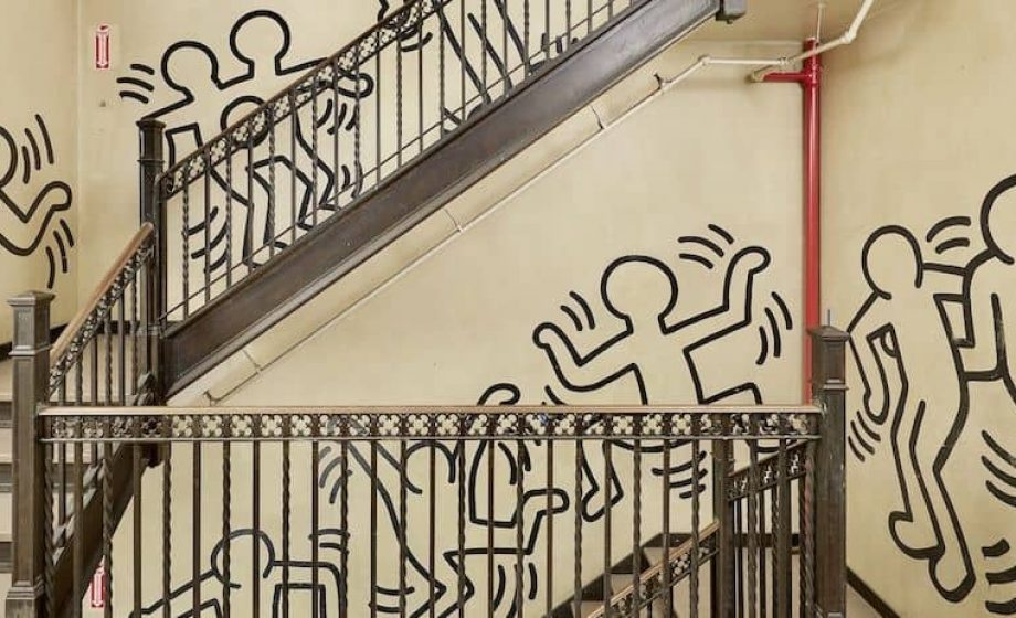First Keith Haring mural to hit the auction block