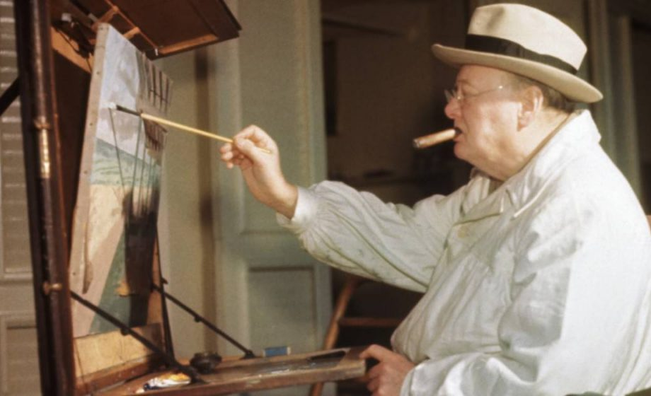A tale of Winston Churchill, Franklin D. Roosevelt and Angelina Jolie