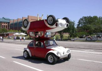How the Volkswagen Beetle sparked America's art car movement