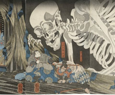 In Japan, supernatural beliefs connect the spiritual realm with the earthly objects around us