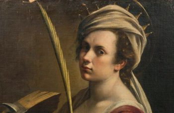 Self-portrait by Artemisia Gentileschi pops up in unusual places
