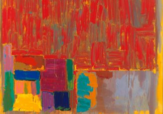 Tate Britain features John Hoyland in 'Spotlight' series