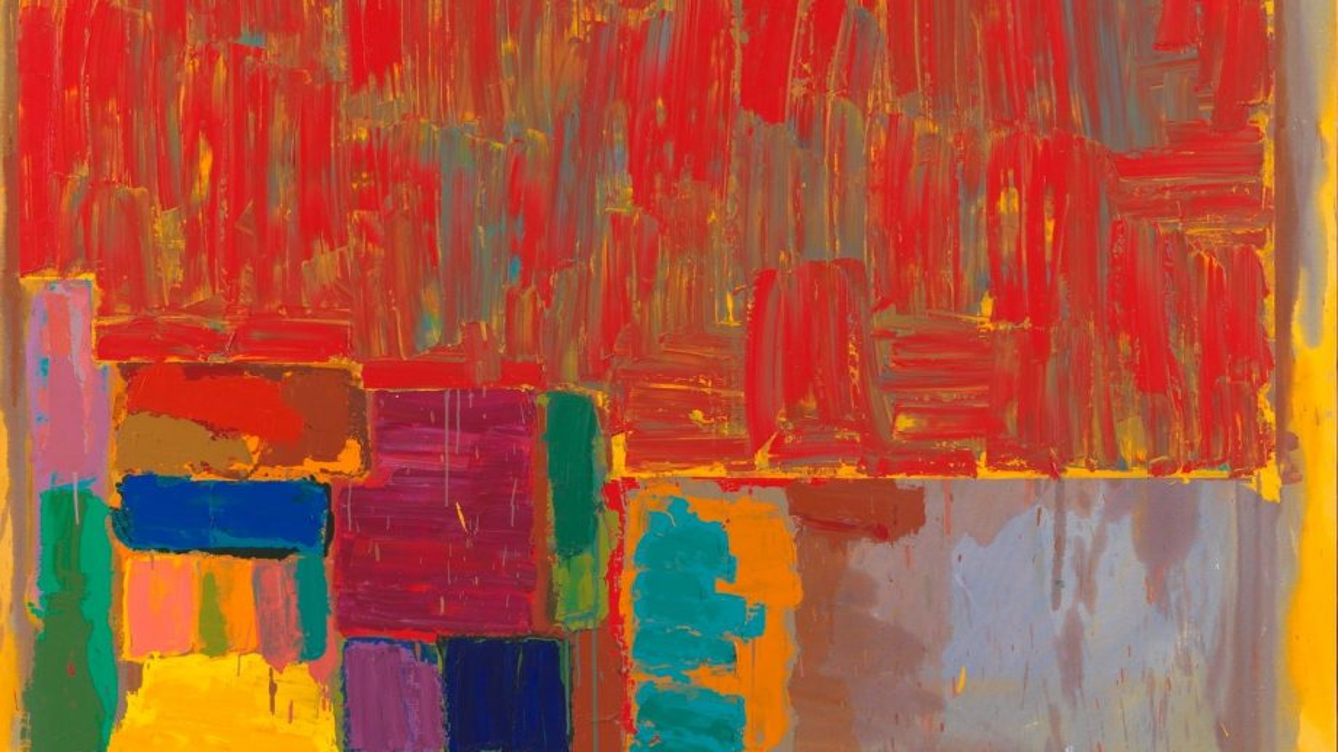 Tate Britain features John Hoyland in 'Spotlight' series