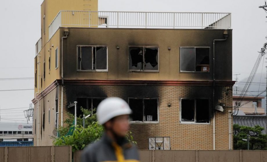 Kyoto Animation decimated by arson attack