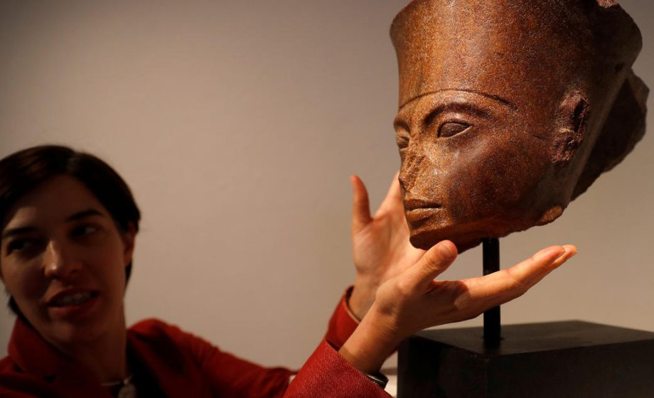 Egypt will sue Christie's over the $6 Million sale of a King Tutankhamun bust