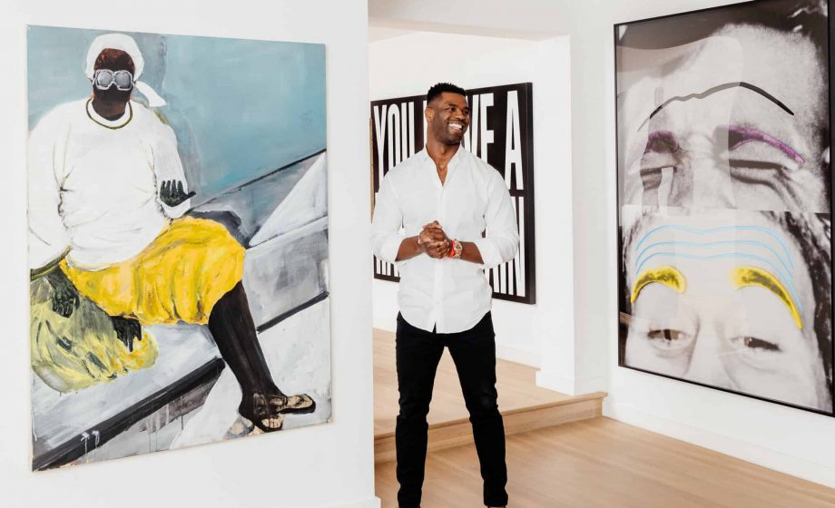 From the NFL to art history: how Keith Rivers is spanning the gamut