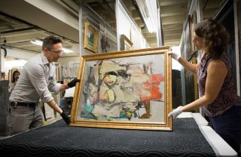 Lost and found: a stolen de Kooning makes its debut