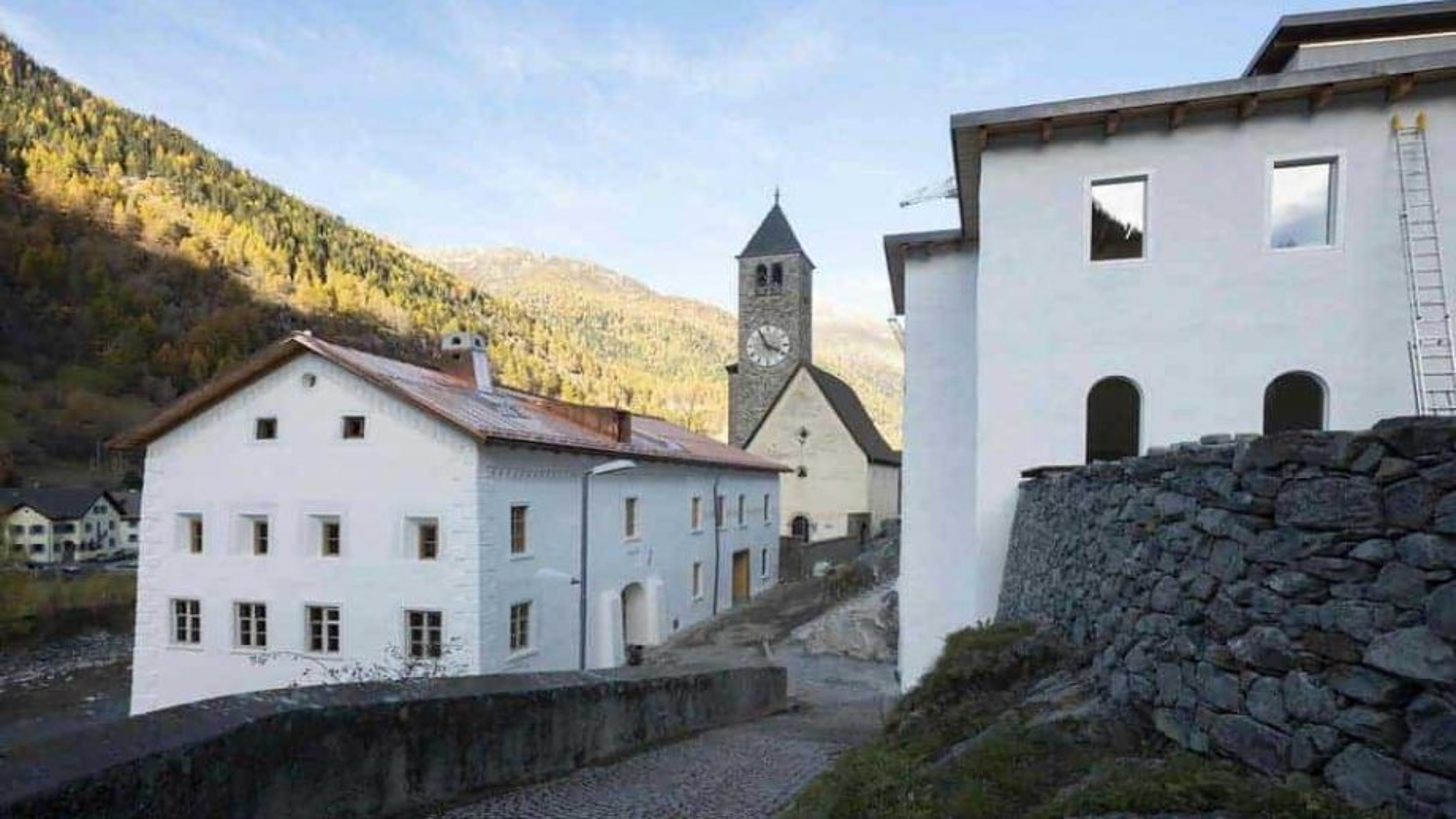 Modern art museum opens in Swiss Alps