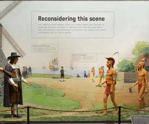How the American Museum of Natural History addressed a dated diorama