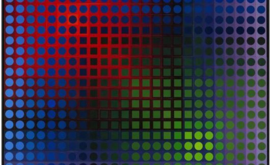 Vasarely, from every angle