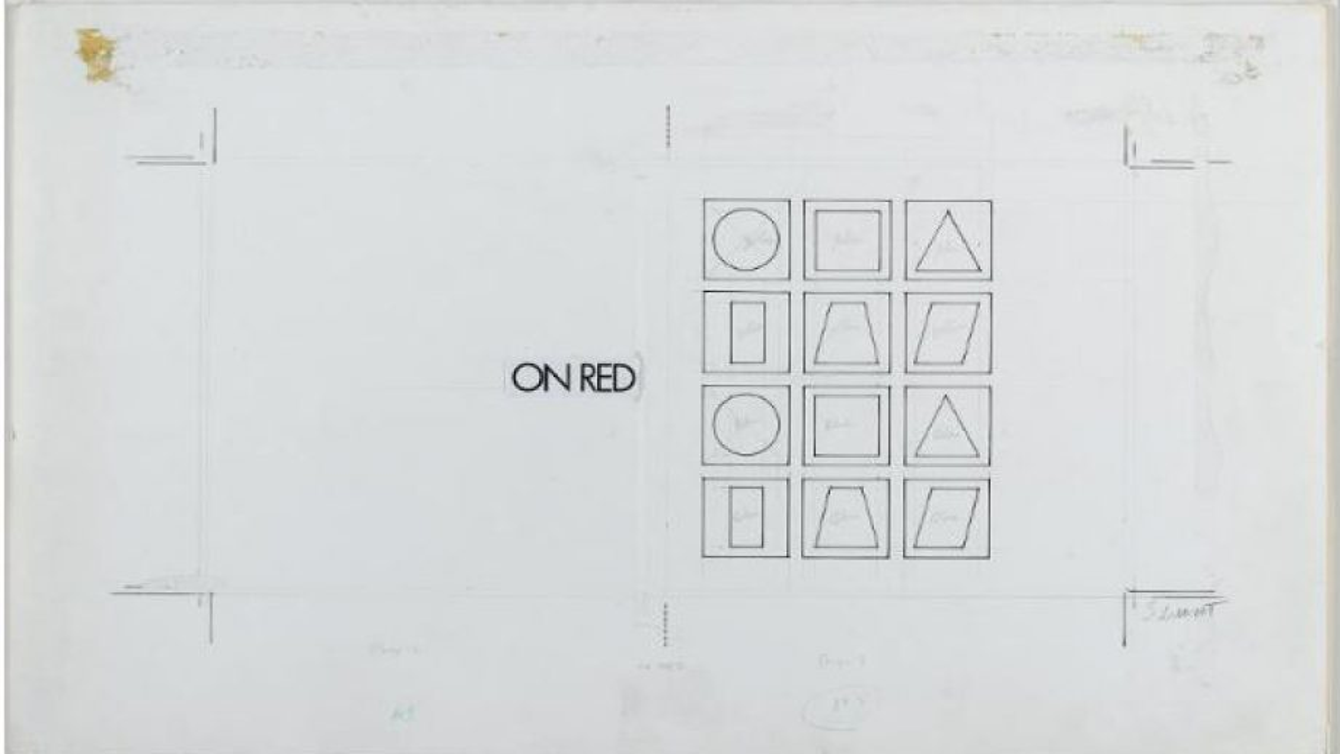 Du minimalisme à  l'art conceptuel, l'oeuvre de Sol LeWitt