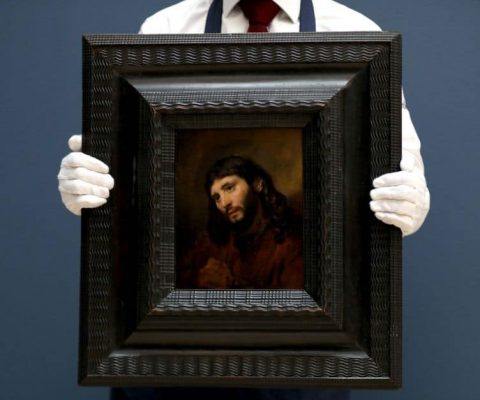 Seeing double: nearly identical Van Dyck paintings and a pair of Rembrandt's finger prints