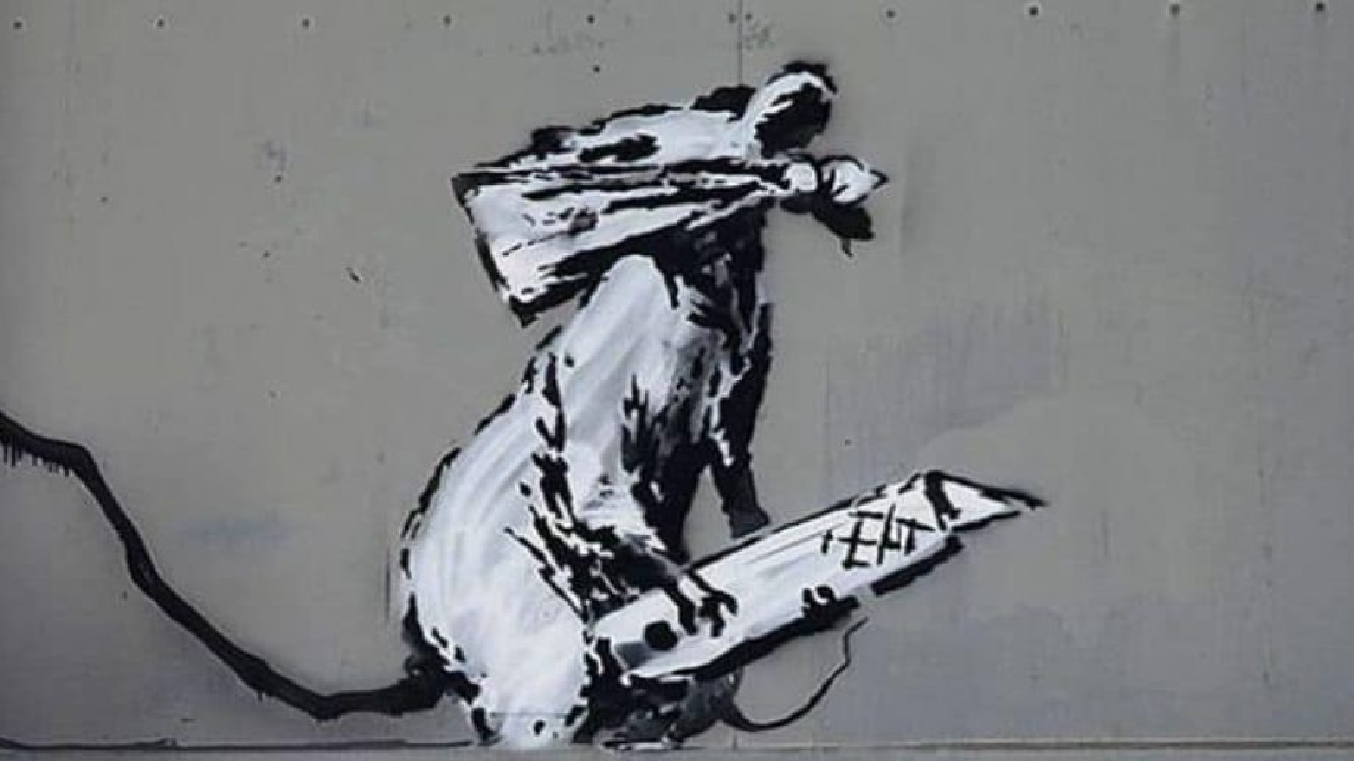 Second Banksy artwork stolen from Paris