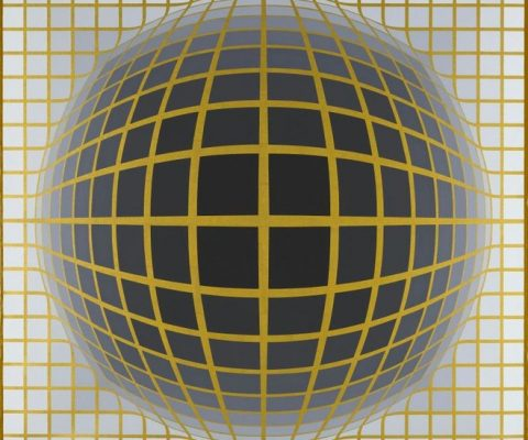 Kelly and Vasarely, from tenderness to visual fatigue