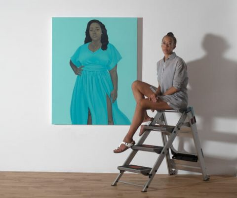 Seeing it through: artist Amy Sherald orchestrates legacy of her Breonna Taylor portrait